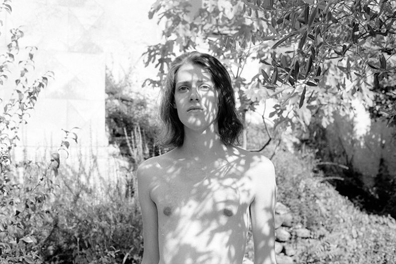 Portrait of an Androgynous Boy and his Backyard - Fabrizio Albertini - Phases Magazine
